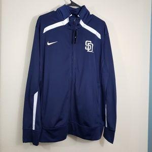 Nike San Diego Padres Lightweight Sweater L New